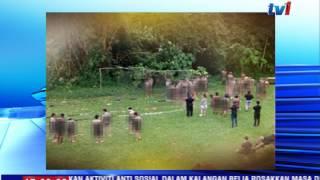 POLIS TAHAN 39 PESERTA BOGEL DI KEM MOTIVASI [22 JAN 2017]
