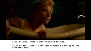 From Script to Screen: Crimson Peak - Bath Scene