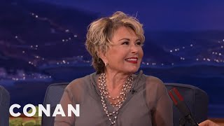 Roseanne Barr Is Very Proud Of Her Liposuction  - CONAN on TBS