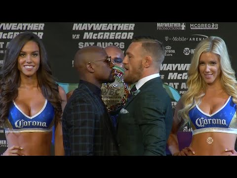 Xxx Mp4 Floyd Mayweather And Conor McGregor S Final Press Conference Before The Fight Mayweather Vs McGreg 3gp Sex