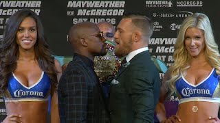 Floyd Mayweather and Conor McGregor's final press conference before the fight | Mayweather vs McGreg