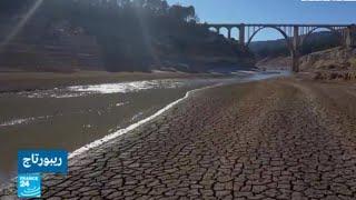 """إسبانيا.. عندما يحتضر نهر """"تاجة"""" بسبب الجفاف والتلوث"""