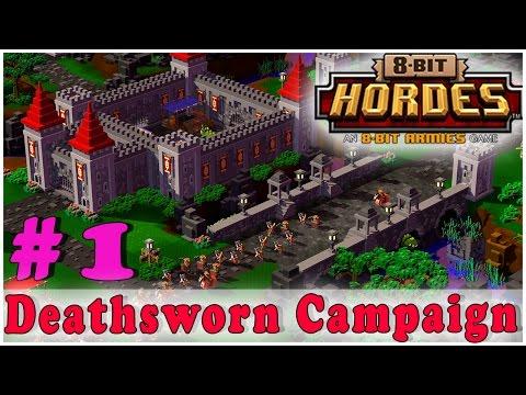8-BIT HORDES Walkthrough Gameplay | Deathsworn Campaign 1 & 2 | PC Full Game HD