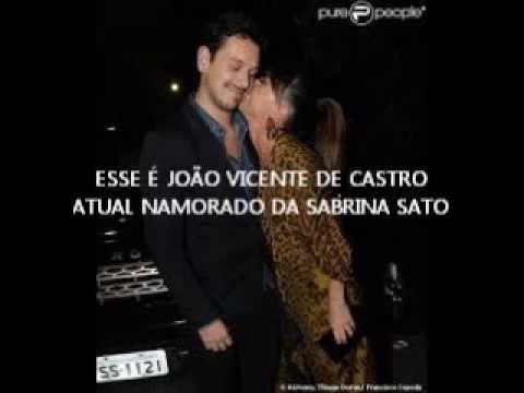 Pânico na Band Encerramento Beijo de Sabrina Sato em Dener 16 12 2012 montagem