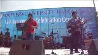 mon majhire at northern university bangladesh 11th aniversity