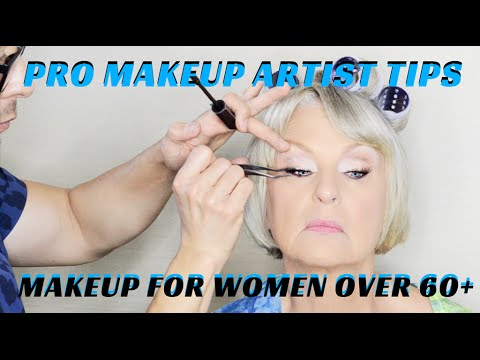 How to do Makeup on Women over 60 Makeup Tutorial mathias4makeup