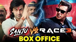 RACE 3 Vs SANJU   OPENING DAY PREDICTION   Salman Khan Vs Ranbir Kapoor