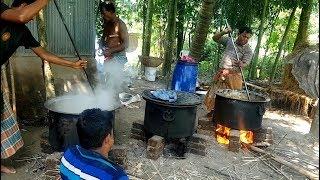 Big Function Food Arrangement   Beef, Chicken & Eggs Cooking   Village Traditional Marriage Ceremony