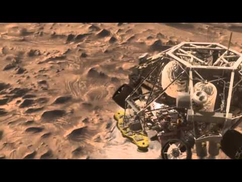 Mars Science Laboratory Curiosity Rover Mission Animation