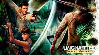 Uncharted 1 El Tesoro de Drake Pelicula Completa Español | Remastered 1080p 60fps (Game Movie 2015)