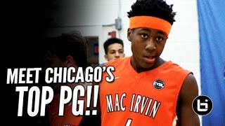 6'4 Ayo Dosunmu is Chicago's Top Point Guard! Official Ballislife Mixtape