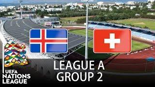 Iceland vs Switzerland - 2018-19 UEFA Nations League - PES 2019