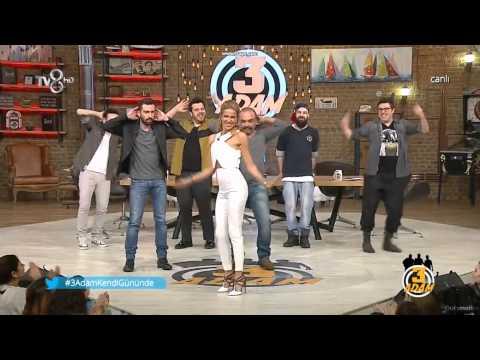 Burcu Esmersoy 3 adam dansı