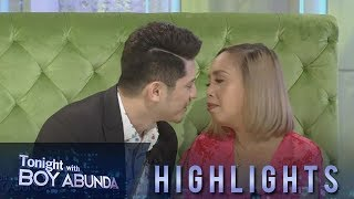 TWBA: Ahron and Kakai reveal who is the better kisser between the two of them