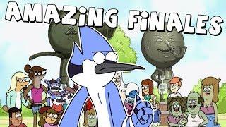 AMAZING Cartoon Series Finales
