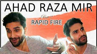 Rapid Fire with AHAD RAZA MIR 💥😍   On Finding LOVE, YAKEEN KA SAFAR & more   2/4   Orange Wall TV