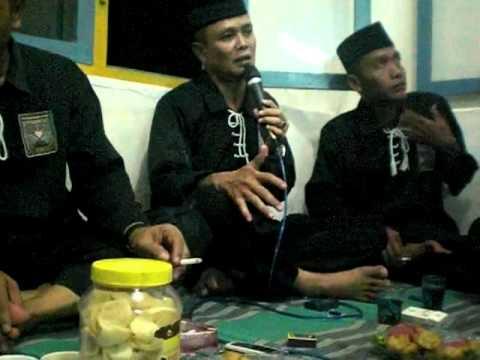 Wejangan ke SH an Mas Fajar Sukmono Cab. Jember Jelang Ritual cuci Mori 2010