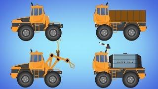 Transformer |  Fire Truck | Dump Truck | welding truck | electricity for kids