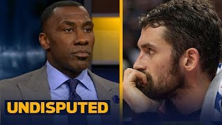 Shannon and Skip explain why Kevin Love is not to blame for the conflict in Cleveland | UNDISPUTED