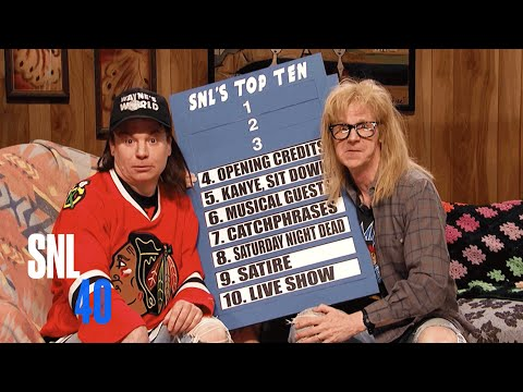 Wayne s World SNL 40th Anniversary Special
