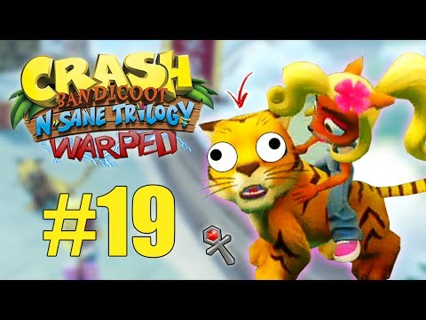 PÃO.. MORREU! - Crash Bandicoot N.Sane Trilogy WARPED #19