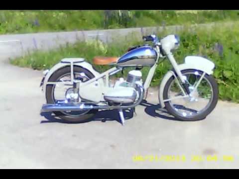 JAWA Typ.12 Zbrojovka 1949 Ogar ride