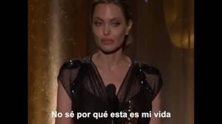 DISCURSO DE ANGELINA JOLIE OSCAR HONORÍFICO