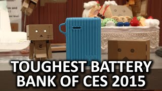 Google Ingress Charger and Waterproof Battery Bank - Cheero Booth - CES 2015