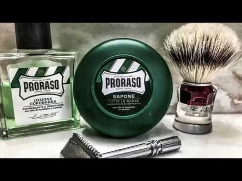 Quick Shave with GEM MMOC and Proraso Green