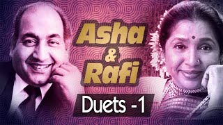 Best of Mohd Rafi & Asha Bhosle Duets (HD) -| VIDEO JUKEBOX  1 | Evergreen Bollywood Song Collection