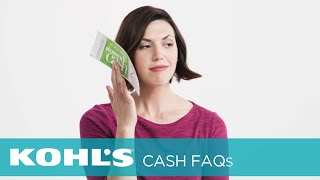 How Do Kohl's Cash® Returns Work? | Kohl's