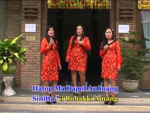 BURJUNI DAMANG DAINANG cipt.Poster Sihotang by Sinaga Sister