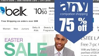 How to get & use coupons on Belk