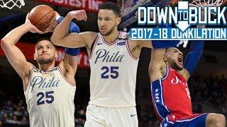 Ben Simmons All 147 Dunks Full Highlights (2017-18 Season Dunkilation)