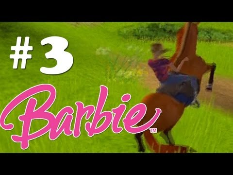 Let's Play Barbie Wild Horse Rescue! - Part 3 - I rode your virginity...