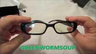 UNBOXING 720P HD Spy Eyewear Sunglasses Hidden Camera - AMAZON