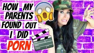 HOW MY PARENTS FOUND OUT I DID PORN | STORYTIME