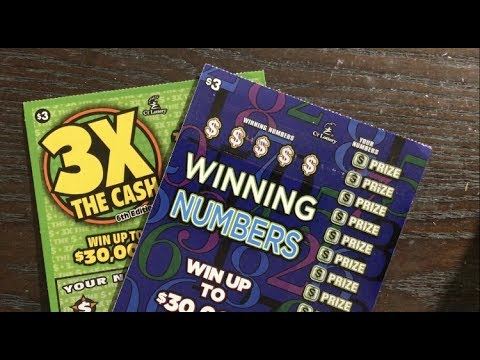 Xxx Mp4 3 Winning Numbers And 3X The Cash Connecticut Lottery Scratch Off Tickets 3gp Sex