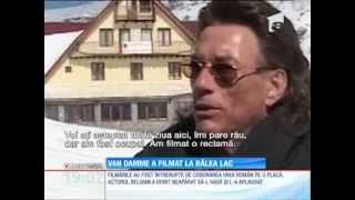 Van Damme filmează la Bâlea Lac! A lăudat România şi locurile pe care a apucat să le viziteze