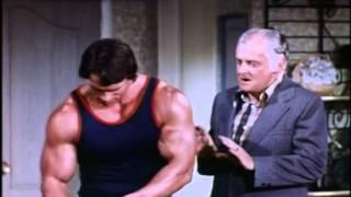 Arnold Schwarzenegger & Lucille Ball