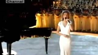 Celine Dion The Power of The Dream Live in Atlanta's Olympic Games 1996 HD   YouTube