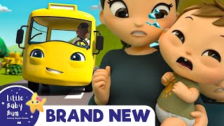 Buster's Wheels on The Bus   BRAND NEW   +More Nursery Rhymes & Kids Songs   Little Baby Bum