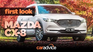 2018 Mazda CX-8 review: First look at equipment and comfort