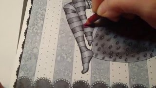 Grayscale Coloring Tip - Beginner's Colored Pencil Technique - Spellbinding Images