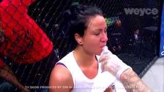 BEST MMA FIGHTS /  ASHLEE EVANS SMITH Vs TORI ADAMS
