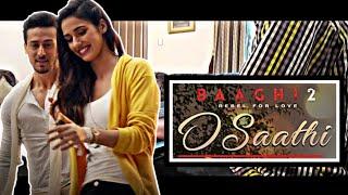 Baaghi 2 | O Saathi Video Song Piano Cover | Aatif Aslam | Tiger Shroff | Piano Instrumental Version