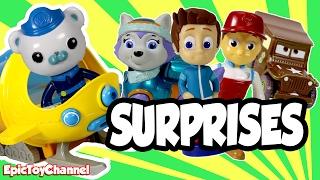 Octonauts Disney Surprise Deliver Paw Patrol, Blaze & Slither.io Surprise Toys by EpicToyChannel