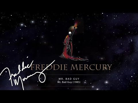 Freddie Mercury - Mr Bad Guy (Official Lyric Video)