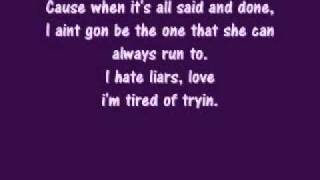 Deuces by Chris Brown Lyrics [clean version]