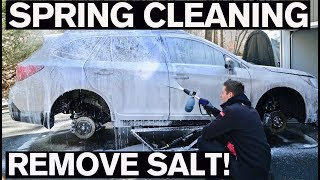 Best Spring Cleaning Car Wash to Remove Salt!